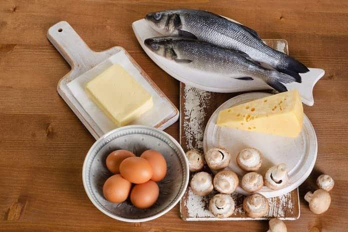 potravinové zdroje vitamínu d