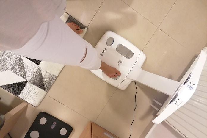 bioimpedančnej váha
