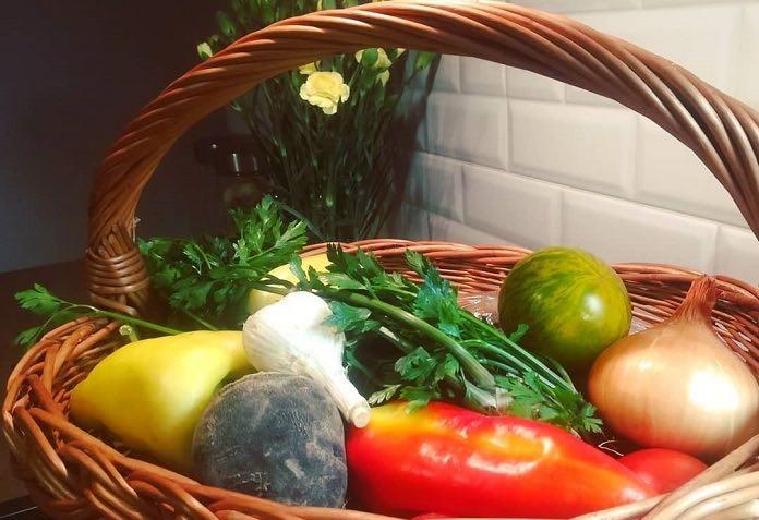 zelenina zo záhradky