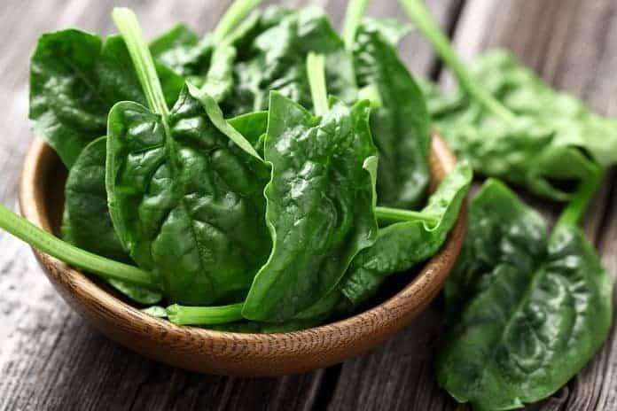 listová zelenina - zdroj horčíka