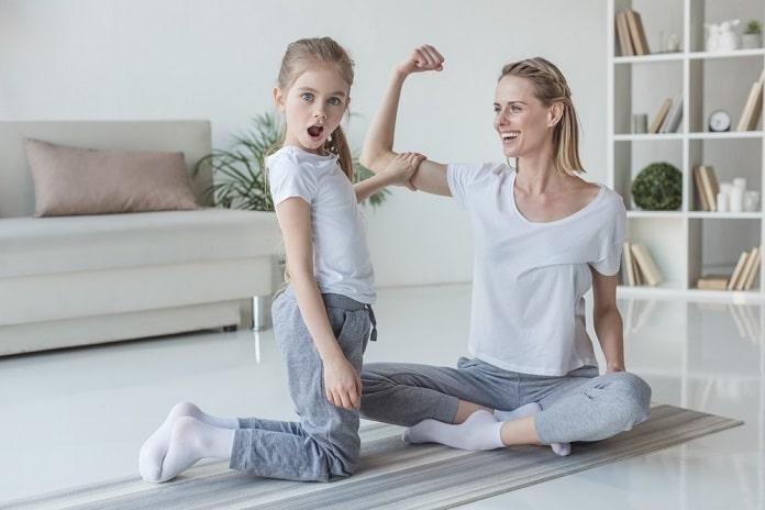 správna funkcia svalov